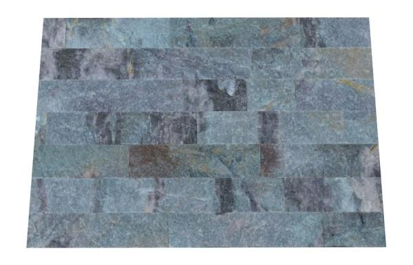 Riemchen-Verblender Caribbean Blue spaltrau