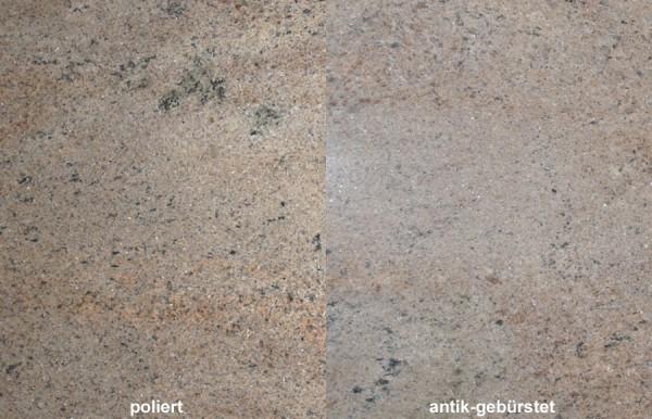 Terrassenplatten Granit Ghibly gebürstet