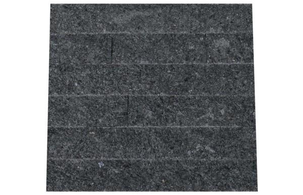Granit Verblender Steel Grey spaltrau