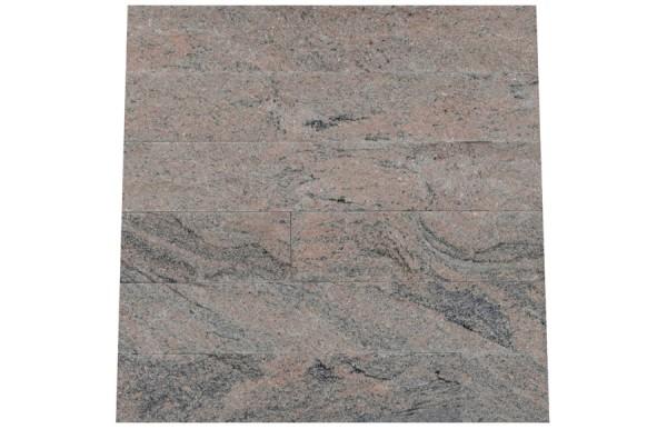 Granit Verblender Juparana India spaltrau