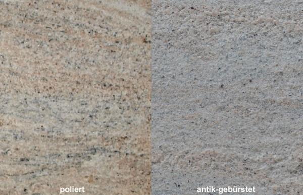 Terrassenplatten Aus Granit Colonial Ivory Wieland Naturstein