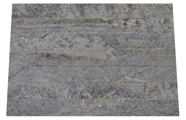 Granit-Verblender White Fusion spaltrau