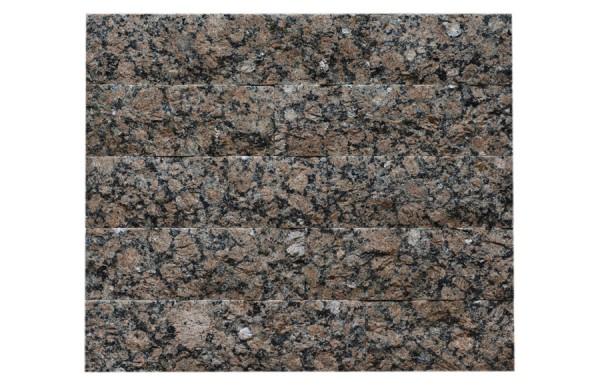 Granit-Verblender Baltic Brown spaltrau