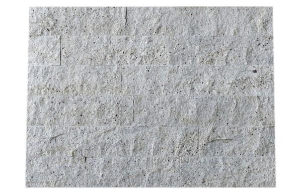 Granit-Verblender Kashmir White spaltrau